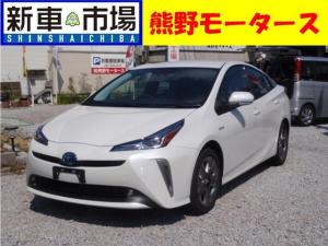 トヨタ プリウス Sツーリング・新車・ナビ付・ETC・コーティング・マット付