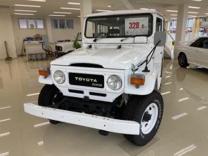 トヨタ ランドクルーザー40 観音開 色替車 プロコンプショック クーラー無 中期モデル
