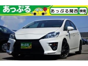 トヨタ プリウス Sツーリングセレクション・G's ナビ  フルセグ 18AW