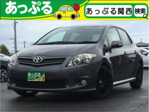 トヨタ オーリス RS 6F 禁煙車 ナビ TV Bカメラ Bluetooth DVD ETC HIDヘッドライ マット 社外18インチAW キーレス