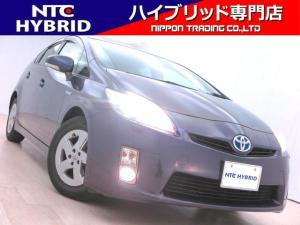 トヨタ プリウス S LEDエディション 前期 純正ナビ Bluetooth LED Bカメ ETC