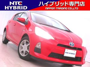 トヨタ アクア S 前期 社外ホイール プッシュスタート