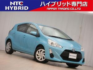 トヨタ アクア S 中期 社外ナビ DVD Bluetooth ETC