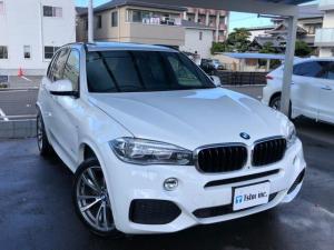 BMW X5 xDrive 35d Mスポーツ 5人乗 サンルーフ 電動リアゲート シートメモリー ETC マルチナビ バックカメラ シートヒーター ディーゼル