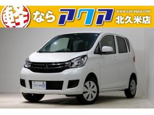 三菱 eKワゴン E 届出済未使用車 キーレスエントリー ベンチシート