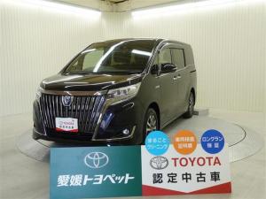 トヨタ エスクァイア ハイブリッドGiプレミアムパッケジブラックテーラード LED