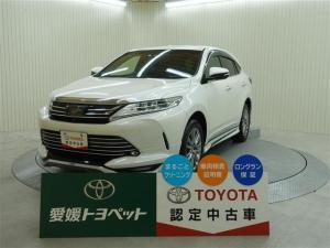 トヨタ ハリアー プログレスメタル&レザー4 クルーズコントロール ETC