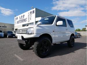 スズキ ジムニー ワイルドウインド 4WD・AT車 走行8万キロ台 リフトアップ マフラー GEOLANDAR M/T