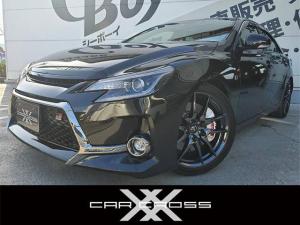 トヨタ マークX 350RDS GRスポーツ GRスポーツ専用アルミ・キャリパー・ハーフレザーシート