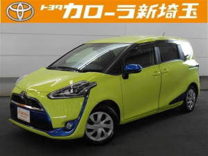 トヨタ シエンタ G メモリーナビ ワンセグ CD 3列シート スマートキ-