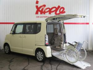 ホンダ N-BOX+ G・Lパッケージ 福祉車 スローパー 電動ウインチ 禁煙車