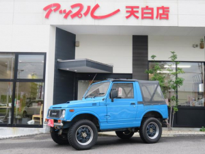 スズキ ジムニー CC 幌車 5速マニュアル リフトアップ 社外ハンドル M/Tタイヤ ターボ シートカバー