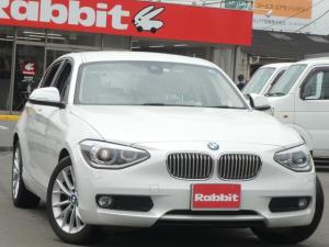 BMW 1シリーズ 116i ファッショニスタ ホワイトレザーシート HDDナビ