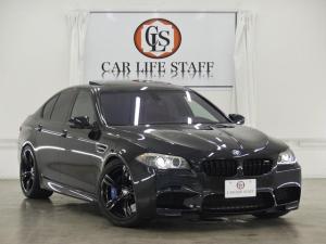 BMW M5 M5 社外可変式マフラー H&Rダウンサス 赤革 SR 禁煙