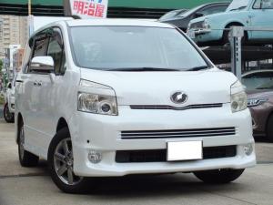 トヨタ ヴォクシー ZS煌 両側電動スライド F/Dモニタ クルコン 純正ナビ