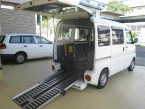 日産 クリッパーバン スローパー 福祉車両 記録簿 両側スライドドア