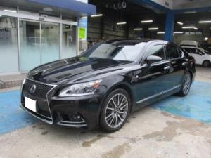 レクサス LS LS600h Fスポーツ 黒革エアーシート プリクラッシュ パワートランク 3眼LEDヘッドライト ワンオーナー法人車両