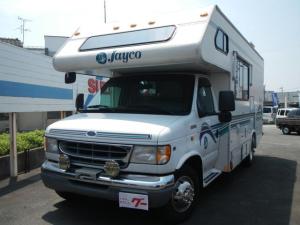フォード E-350  キャンピングカー Jayco 新車並行輸入 ベッド トイレ コンロ 冷蔵庫 シャワールーム シンク 洗面台 電子レンジ リビングTV ナビ フルセグ バックカメラ ETC 6人乗り 6.8L