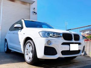 BMW X3 xDrive 20d Mスポーツ Drive 20d Mスポーツ インテリジェントセーフティ HDDナビ フルセグTV Bカメラ ハーフレザー パワーバックドア HIDヘッド ミラーインETC コンフォートアクセス ドライブレコーダー