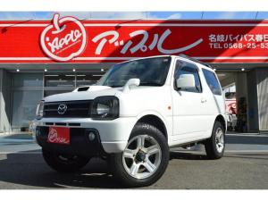 マツダ AZオフロード XC 4WD インタークーラーターボ キーレス 背面タイヤ ワンオーナー車
