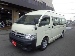 トヨタ ハイエースコミューター  幼児バス 乗車定員4+18/1.5人