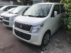 スズキ ワゴンR FX TV ナビ 軽自動車 ホワイト CVT 保証付