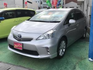 トヨタ プリウスアルファ S Lセレクション スマートキー ナビ DVD再生 ETC付