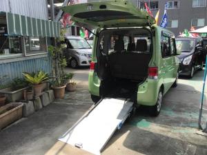 ダイハツ タント  福祉車両 車椅子1基載 スローパー キーレス ベンチシート スライドドア アイドリングストップ