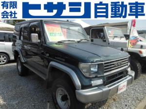 トヨタ ランドクルーザープラド 4WD 外装現状 貨物登録