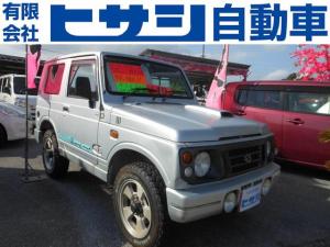スズキ ジムニー ワイルドウインド オートマ 4WD 外装現状車