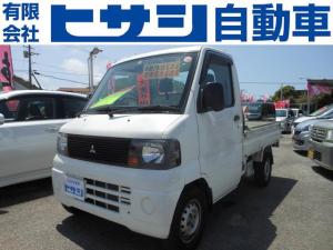 三菱 ミニキャブトラック  5速 4WD エアコン パワステ