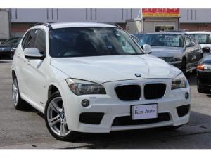 BMW X1 sDrive 18i Mスポーツパッケージ ディーラー車 スマートキー プッシュスタート 純正オーディオ 禁煙車 ETC 純正アルミ18インチ
