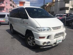 三菱 デリカスペースギア シャモニー キーレス 4WD 15インチAW CD再生