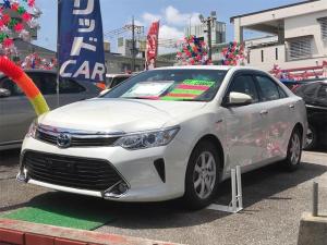 トヨタ カムリ ハイブリッド ナビTV 社外アルミ バックモニター
