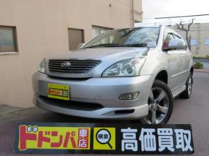トヨタ ハリアー 300G プレミアムLパッケージ ナビ CD MD バックカメラ ETC バッテリー タイヤ新品
