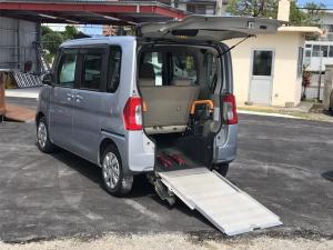 ダイハツ タント  福祉車両 後部スローパー 車椅子1基載 キーレス CD ベンチシート ナビ 両側スライドドア