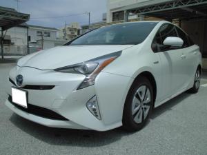 トヨタ プリウス A ToyotaSafetySense SDナビ・ETC付き