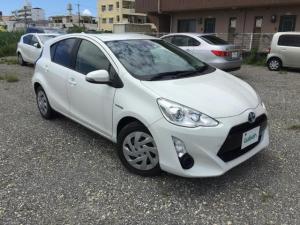 トヨタ アクア G トヨタセーフティセンス・ETC・ナビ・クルコン