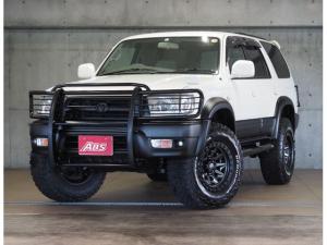 トヨタ ハイラックスサーフ SSR-X プレミアムセレクション 後期モデル 新品FUEL17インチ 新品ブロックタイヤ リフトUP 新品グリルガード 新品サイドステップ テールガード サイドステップ オリジナルツートン