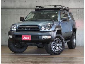 トヨタ ハイラックスサーフ SSR-X 新品FUEL17ホイール 新品タイヤ オージールーフラックカーゴ サイドステップ 4連LEDヘッド 2インチリフトUP 黒シートカバー