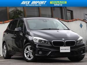BMW 2シリーズ 218iアクティブツアラー 安全支援装置 LED 本土仕入