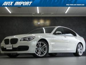 BMW 7シリーズ 740i Mスポーツパッケージ 後期型 ガラスSR 安全支援装置 黒革 純正HDDナビ地デジBカメラ LEDライト 20AW ドライビングパフォーマンスコントロール DOHC直列6気筒ツインターボ 禁煙1オナ 本土仕入