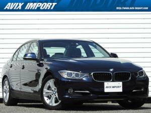 BMW 3シリーズ 320i スポーツ 1オナ 衝突警告 ACC コンフォートア クセス プッシュスタート 純正HDDナビバックカメラ パークディスタンスコントロール メモリー付パワーシート アイドリングストップ ECO PRO ミラー一体型ETC キセノンライト 17インチAW