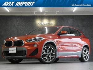 BMW X2 xDrive 18d MスポーツX コンフォートPKG ACC HUD LED 安全支援装置 純正HDDナビBカメラ 19AW オートトランク 禁煙車 DOHC直列4気筒ディーゼルターボ 新車保証