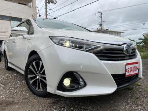 トヨタ SAI G Aパッケージ リアスポイラー、シートカバー、ETC付き!