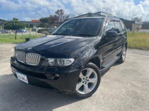 BMW X5 4.4i サンルーフ 本革シート フルセグTVナビ ブルートゥース バックカメラ 点検記録簿付き 両席パワーシート