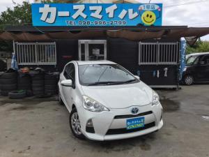 トヨタ アクア S 下取り2万円保証! 社外ナビ スマートキー プッシュスタート ETC