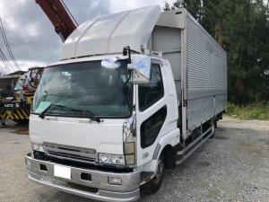 三菱ふそう ファイター  ウイング・パワーゲート・バックカメラ・軽油・MT
