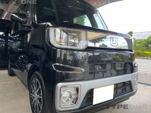 ダイハツ ウェイク X ファインセレクションSA ターボ 2年保証 ウェイク専用8インチナビ 純正11.2インチフリップダウンモニター フルセグTV Bluetooth 新品クライッツオシートカバーサービス 本土車