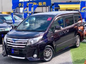 トヨタ ノア ハイブリッドSi 9インチBIGナビ・後席モニター・Wパワースライドドア・LEDヘッドライト・フルセグTV・DVD走行中視聴可能・Bluetoothオーディオ・バックビューモニター・・・